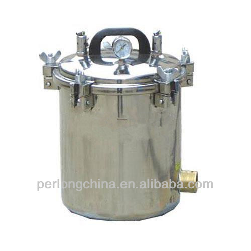 Portable Stainless Steel Steam Sterilizer PT-12LM Medical Device