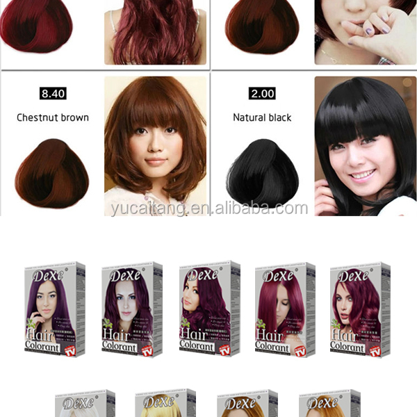 Natural Hair Color Dye Products Printable Coloring Pages