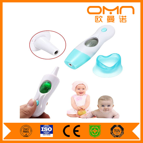 Household baby adult precise second measuring infrared human body temperature measurement electronic min max thermometer
