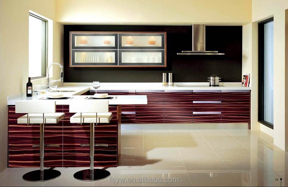 verf kleuren paneel deur keuken kasten houten keuken kast-keuken ...
