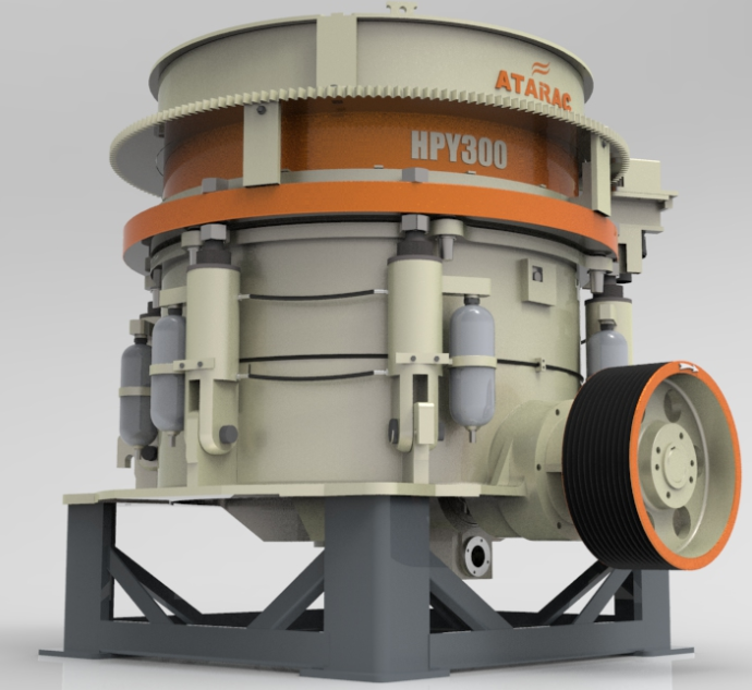 HP Series Multi-Cylinder Hydraulic Cone Crusher with 24 Hours Online Service