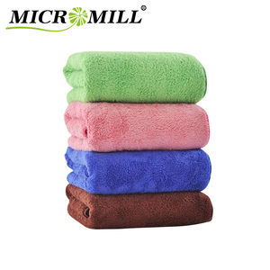 HBA-026 Ningbo MICROMILL Coral Fleece Wholesale Spa & Shower Body Hair Drying Super Absorbent Microfiber Bath Towel 70x140cm