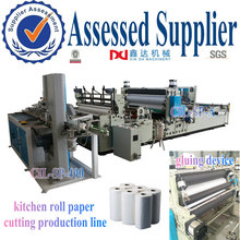 low investment high profit kitchen roll paper towel cutting machine production line