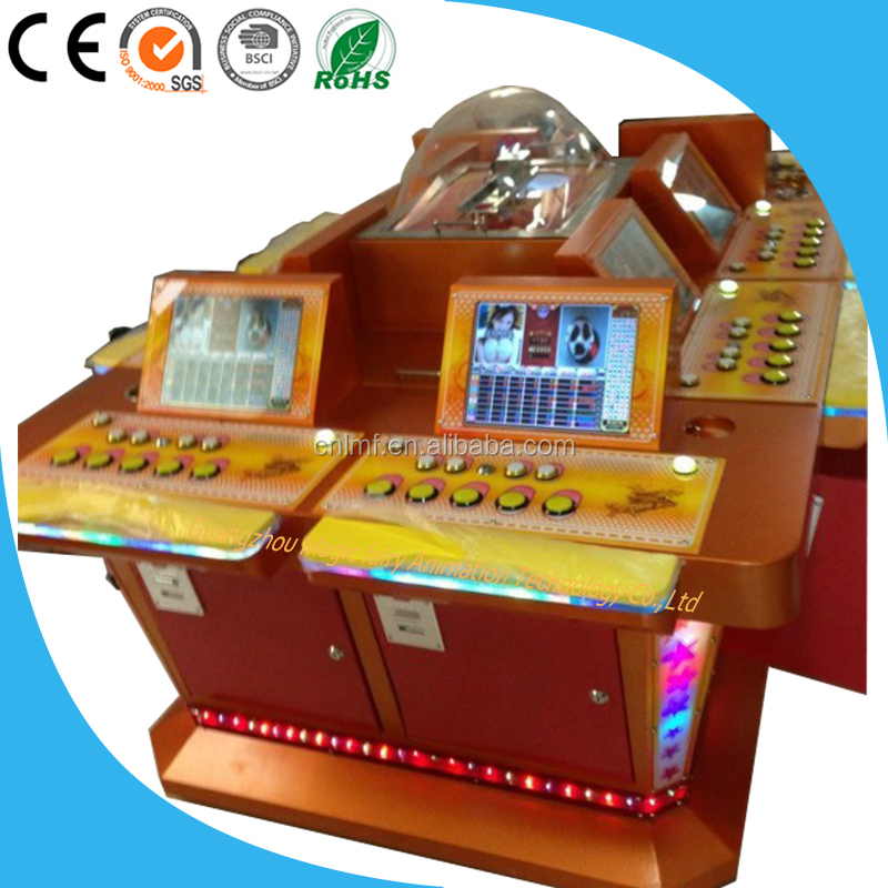 coin slot game machine Thiland arcade roulette machine for Sale 4/6/8/Players