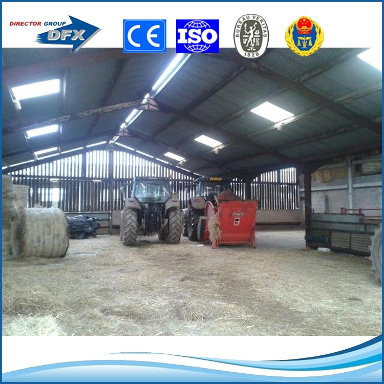 Bajo Costo Estructura De Acero Ligero Ganado Cerdo Granja Pigpen ...