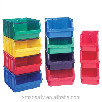 Warehouse Plastic Storage Bins Whole Stacking For Craft And Hardware