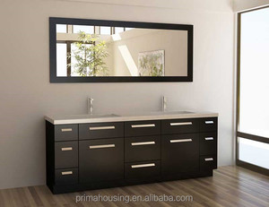 Double sink used cheap chinese bathroom vanity cabinets