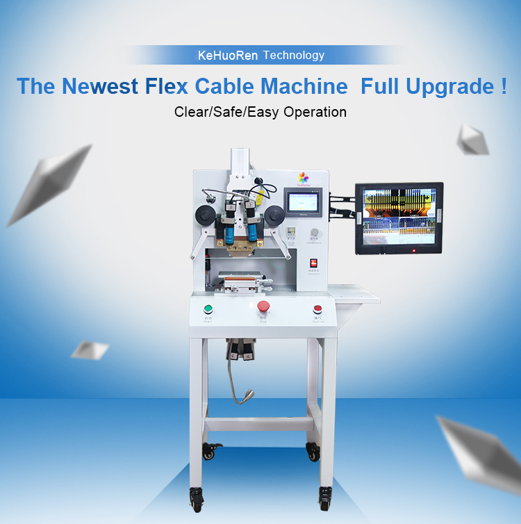 Nieuwe Lcd Flex Kabel Lint FPC Pulse Reparatie ACF Bonding Machine met LED Display voor Iphone voor Samsung