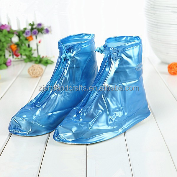 Fashion cheap high quality pvc rain shoe cover for unisex