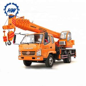 New price for 6 ton 8 ton 10 ton 12 ton hydraulic truck crane with outrigger