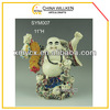 Small standing happy buddha figure