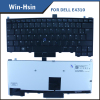 Distribute New orginal Black French layout laptop keyboard For DELL Latitude E4310 series Backlit keyboard FR with pointer
