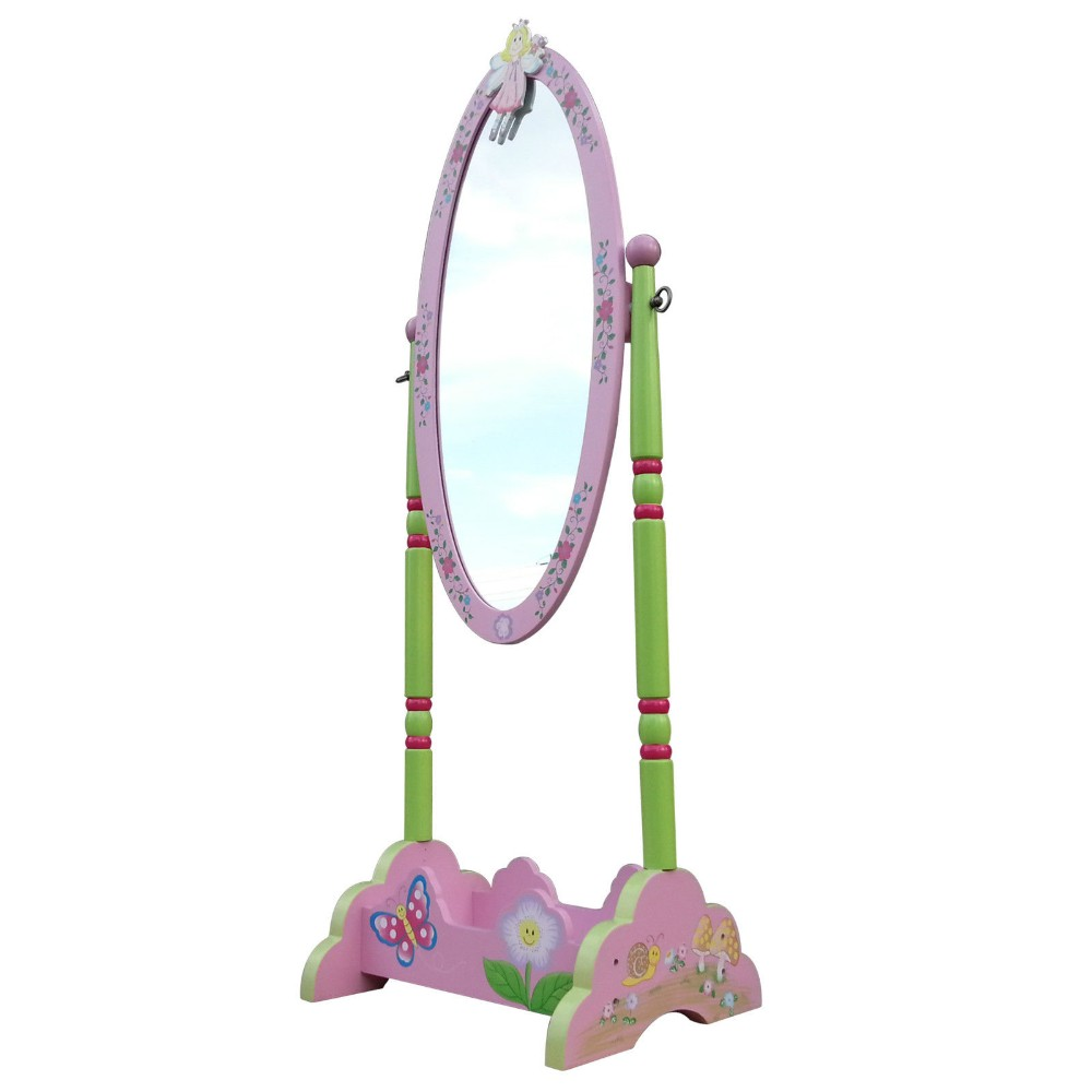 Beautiful Fairy Standing Mirror Kids Mirror Girls Dresser