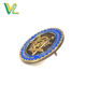 Manufacturer high quality Zinc Alloy Metal Bronze Round Shape for Gift Medal lapel back Badge Pins customized enamel pins