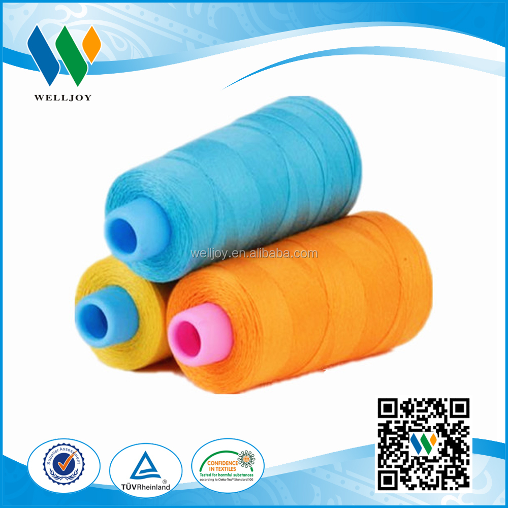 210D/3 high tenacity polyester thread for shoe making