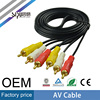 SIPU Factory price colorful 3rca plug av cable wholesale audio video cables best speaker cable