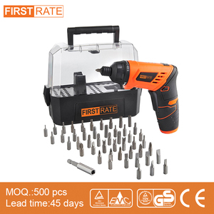 "Firstrate Li-ion battery 1/4"" Mini 3.6V Cordless Screwdriver"