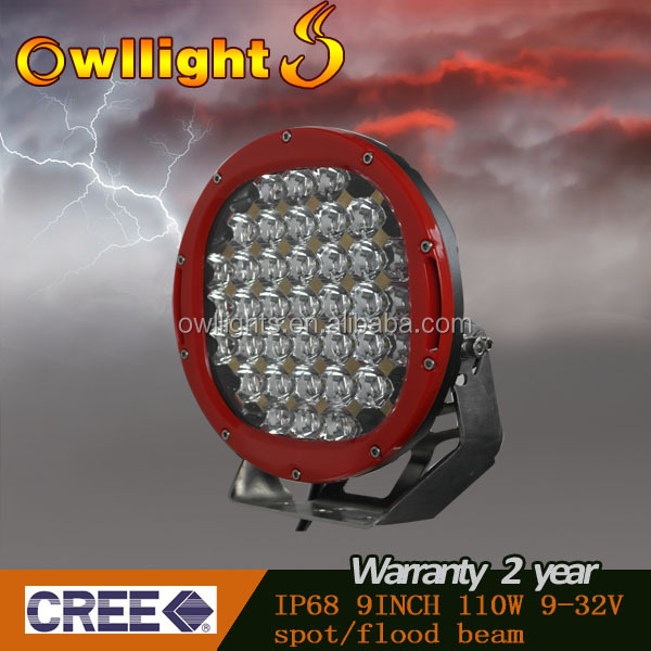 96w LED Driving Light Canada, Very Resistant Product the Yahat Light for Canadian Logging Truck Working in Extreme Conditions