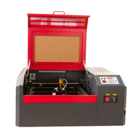 Hot selling laser cnc acrylic plastic pvc 50w 4040 laser cutting and engraving machine