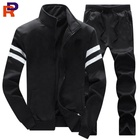 Wholesale custom men casual jacket and panty for sport training tracksuits