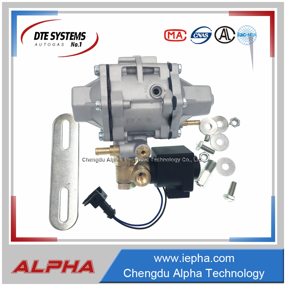 [Alpha]Multi point injection reducer high pressure CNG HIGH VOLTAGE REGULATOR AT12HP
