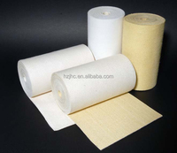 Mail order nomex needle punched filter felt fabric rolls