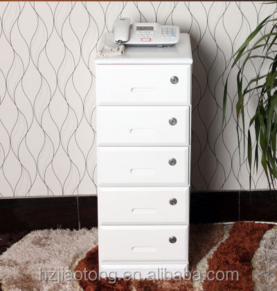 Security Key File Cabinet 5 Drawers Filing Storage Cabinet