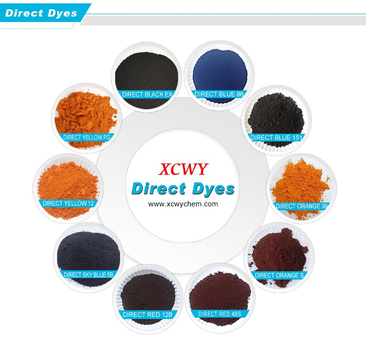 Direct Orange 26 S dyes soluble in alcohol/water