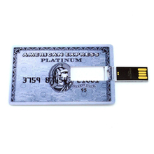 Promotional card 2.0 usb flash drive memory disks 1gb with custom logo