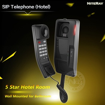 Hotel Room Amenities List Bathroom Telephone VoIP IP Phone 5 Star System