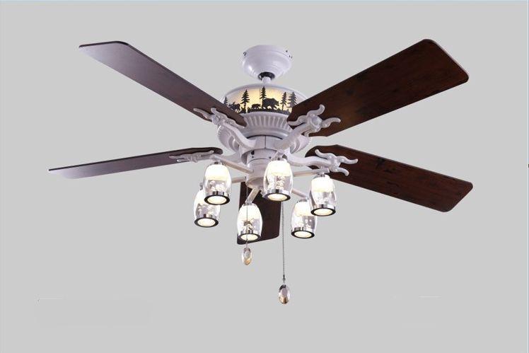 52inch Lamp Ceiling Fan Bedroom Living Room Lamps Fan
