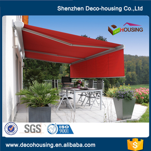Factory direct deck patio awning with metal frame
