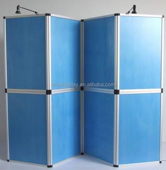 Portable Exhibition Display Boards : Dm 60*90cm mdf board background stand exhibition display portable