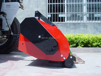 top quality tractor PTO use flail mower, lawn mower, grass mower with CE certification
