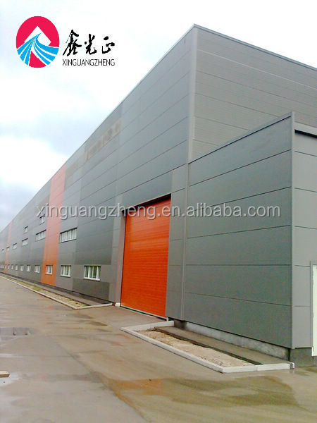 XGZ--Light steel structure warehouse barn kits prefab metal building steel structure office design