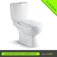 K101 European style restaurant P-trap or S-trap combination toilet bidet