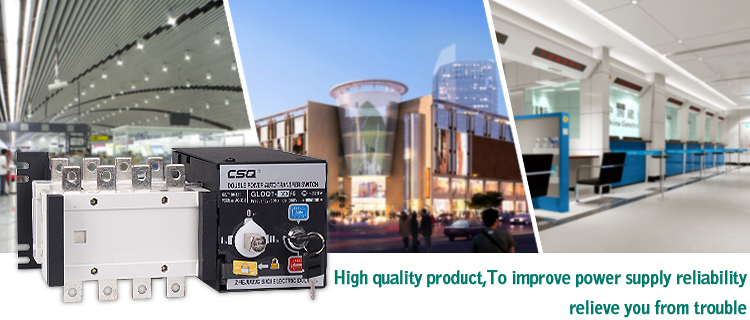 CSQ electric equipment ATS made in China CE,CCC,ISO,PICC