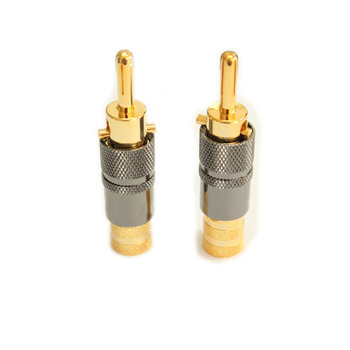 Best Quality Audio Speaker Wire Banana Plug Connectors 4mm Adapter ...