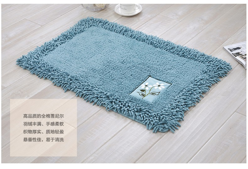 Manufactor Wholesale cotton chenille mats washroom floor mats. Manufactor Wholesale Cotton Chenille Mats Washroom Floor Mats