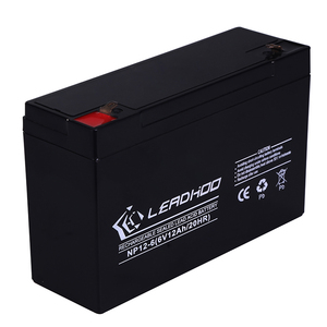 Sealed Lead Acid Battery 6v 12ah storage small battery