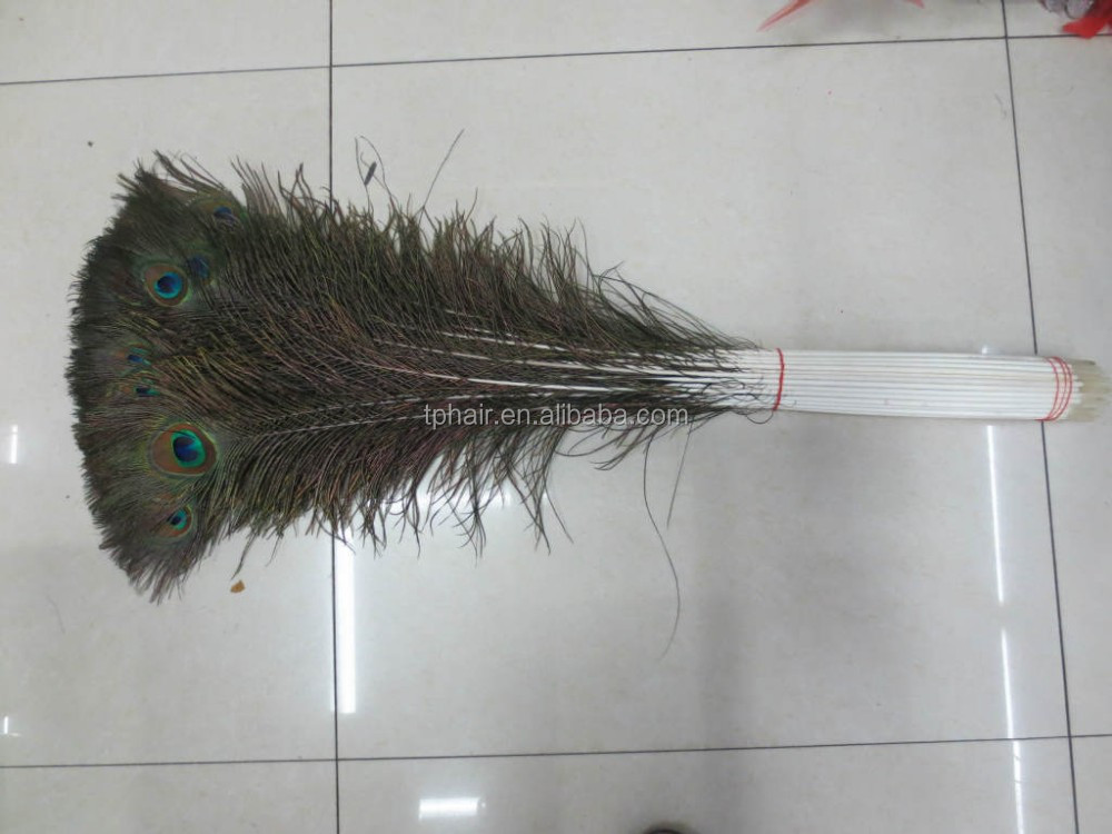 Cheap Hot Sale Different Length 25cm to 100cm Wholesale Natural Indian Peacock Feather