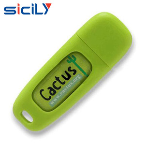 4GB Epoxy USB flash drive with customs design dome sticker logo