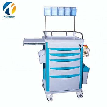 AC-AT017 medical health equipments supplies medical anesthesia instrument trolley cart