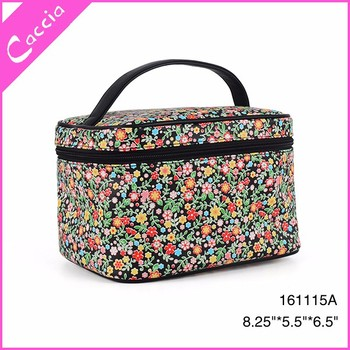 484bce9501fa Spring Little Flowers 3d Print Makeup Bag Plastic Cosmetic Case Beautiful  Toiletry Bag - Buy Beauty Cosmetic Case,Travel Toiletry Bag Product on ...