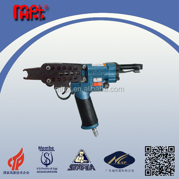 WOODPECKER MHC-7E Razor Wire Clip Gun/Hog Ring Plier for Razor wire from China