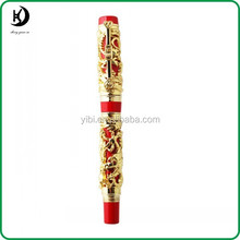 HCH-R680 top quality luxury china dragon fountain pen with clip for office or business gift