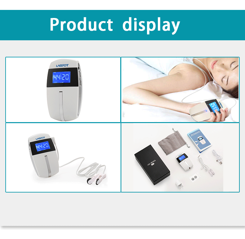 Massage & Relaxation Health Care Efficient Ces Sleep Aid Device Anti-stress Anti-anxiety Medical Device Insomia Treatment Device Sleep Aid Device Latest Technology