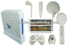 16 bits interactive wireless TV Games Console