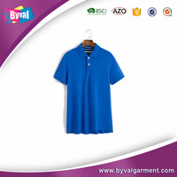 Customize men's 100%cotton breathable lapel polo shirt loose large size male leisure short sleeve mens polo shirt wholesale