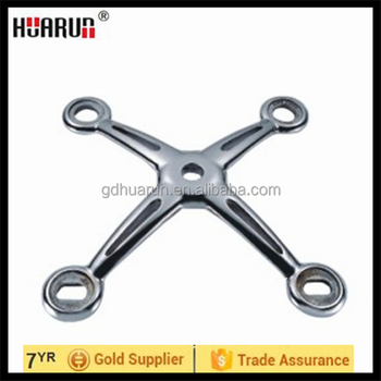 HR200D-4 four arms stainless steel spider bracket,architecture ...